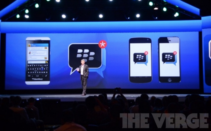 Blackberry iOS/Android